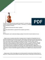Historia Do Violino
