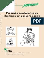Agrodok 22 - Produção de Alimentos de desmame em pequena escala
