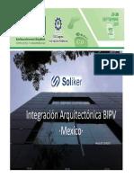 Integración Arquitectónica BIPV