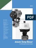 Actuator Sizing - valves