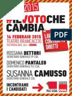 Locandina 14-02 Teatro Brancaccio