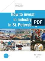 How to invest in industry in St. Petersburg (Russia) - 2015