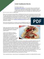 Taco De Carne De Cerdo Condimento Receta
