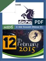 MSD6 Pre-Programme (1)
