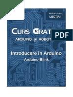 Arduino Lectia1