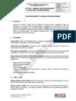 (24102013)Instructivo Manejo Incapacidades y Licencias Por Maternidad