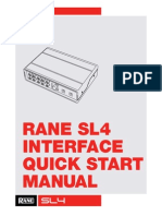 Rane SL4 QSG for Serato DJ