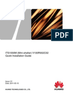 00704729-ITS1000M (Mini-shelter) Quick Installation Guide(V100R002C02_01) HUAWEI