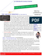 Insurance News You Can Use Newsletter February 2015