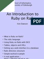 The Rails Talk Slides
