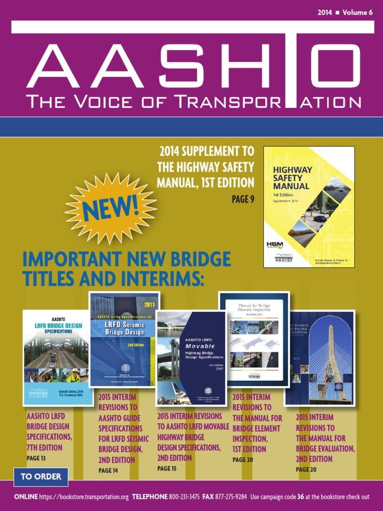 aashto lrfd bridge design specifications 7th edition 2014 pdf