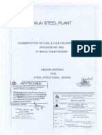 1814 3) Design Criteria for Steel Structural Works