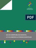 Guia de Gobernabilidad - Ley de Gobiernos Autonomos Municipales Digital- f