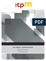 ETPM - Projeto Educativo- 01 setembro 2014