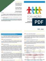 Folder Formacao Pela Escola2010