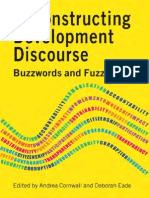 Cornwall and Eade Deconstructing Development Discourse