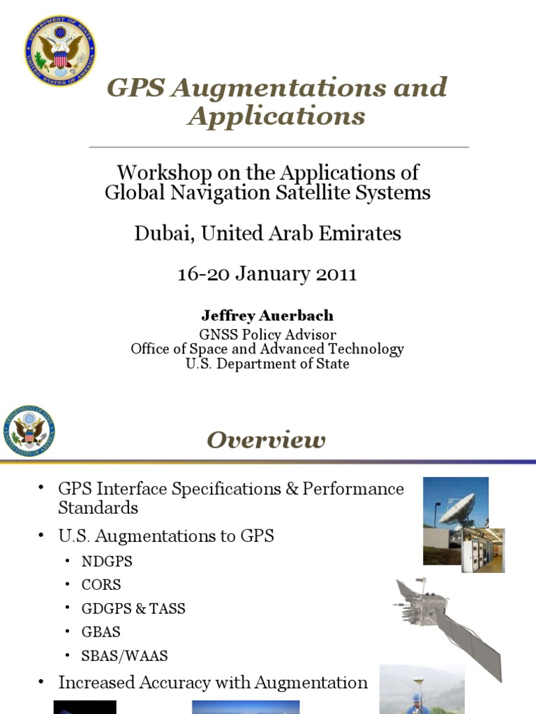 auerbach ppt | Global Positioning System | Systems Engineering