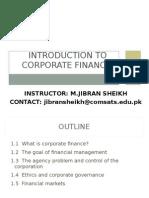 Coprate Finance