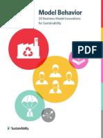 Model Behavior - 20 Business Model Innovations for Sustainability