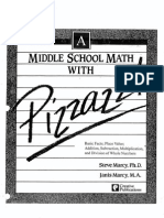 Middle School Math With Pizzazz Book A