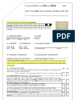 2010 EPIK Application Form