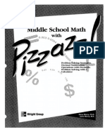 Middle School Math With Pizzazz Book b