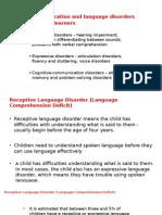 Lec 5 Com Disorders