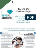 Diapositivas Marina Rutas de Aprendizaje Cta 2014