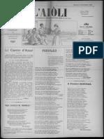 L'Aiòli. - Annado 08, n°281 (Óutobre 1898)