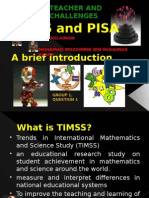 TIMSS and PISA​