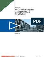 White Paper BMC Service Request Management 2 0 Architecture