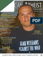 American Atheist Magazine April 2009