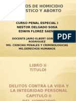 Exposicion Penal Especial