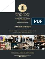 Independent Hotel 2014 Guestbook