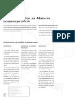 Conformacin de Chapa Por Deformacin Incremental Por Rotacin