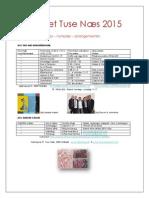 Turlandet Tuse Næs 2015 Årsprogram 1