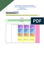 Calendario Máster 2014-2015