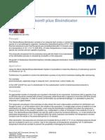 Aplicacion - Sterikon Plus Bioindicator Merck