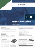 Manual Alarme Fiat - Af1101