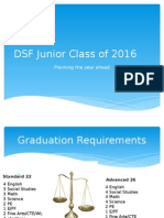dsf junior class of 2016