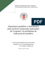Paralelizaciond e Un Algoritmo