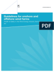 Guidelines for Onshore and Offshore Wind Farms