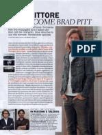 Lo scrittore bello come Brad Pitt