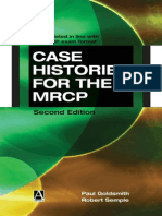 Case Histories for the MRCP