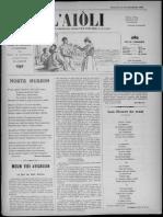 L'Aiòli. - Annado 08, n°287 (Desèmbre 1898)