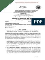 Averment of Jurisdiction - Quo Warranto - STRATFORD BOROUGH MUNICIPAL COURT