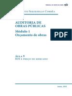 Auditoria de Obras Publicas Modulo 1 Aula 9
