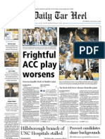 The Daily Tar Heel for Jan. 21, 2010