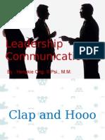 Leadership Communication Ind