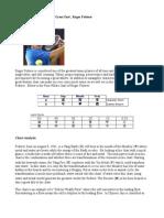 Destiny Analysis of Roger Federer